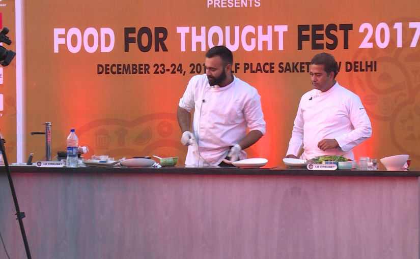 Chef Akshay Bhardwaj's Carpaccio