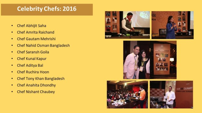 Celebrity Chefs 2016