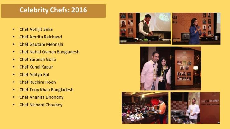 Celebrity Chefs 2016
