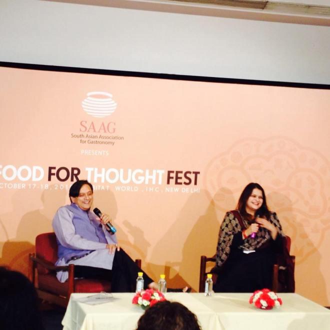 Shashi Tharoor Advaita Kala